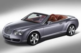 BENTLEY CONTINENTAL Кабриолет (3W_)