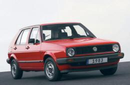VW GOLF II (19E, 1G1)